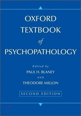 Oxford Textbook of Psychopathology, 2/E