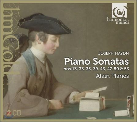 Alain Planes 하이든: 피아노 소나타 13, 33, 35, 39, 43, 47, 50, 53번 - 알랭 플라네 (Haydn: Piano Sonatas)
