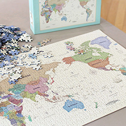 인디고 퍼즐 500피스 (월드맵)