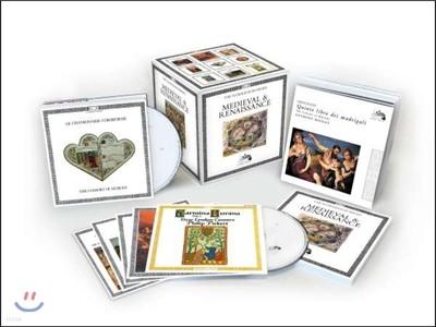 루아조뤼르 박스 3집 - 중세, 르네상스 에디션 (L'Oiseau-Lyre - Medieval & Renaissance)