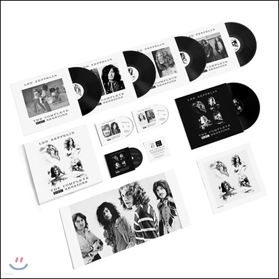 Led Zeppelin (레드 제플린) - The Complete BBC Sessions [5 LP+3 CD Super Deluxe Edition Box]
