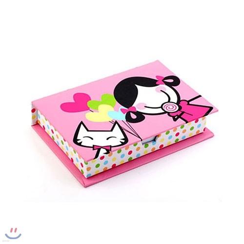 SMIRK TARA LOLLIPOP-MINI NOTEPAPER BOX (KSSM055)