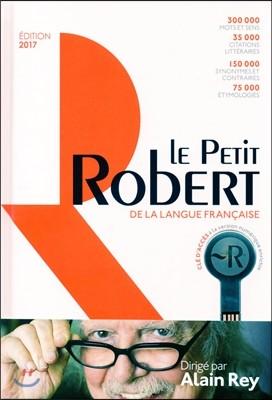 Le Petit Robert Dictionnaire 2017