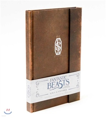 Fantastic Beasts and Where to Find Them : Newt Scamander Hardcover Ruled Journal