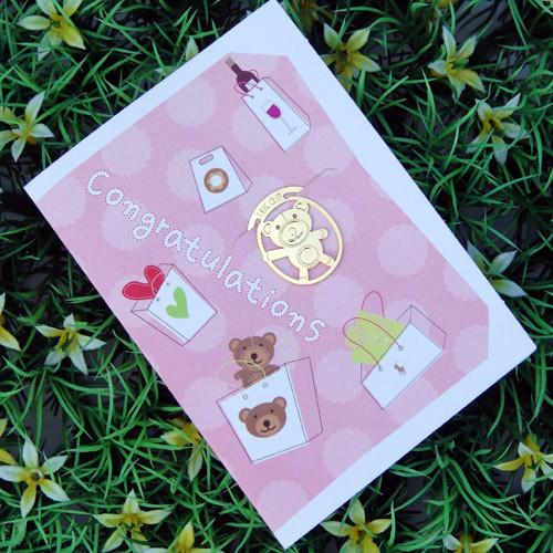 [책갈피 카드] 미니 곰인형 북찌카드