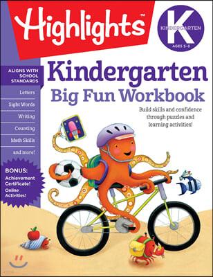 The Big Fun Kindergarten Activity Book