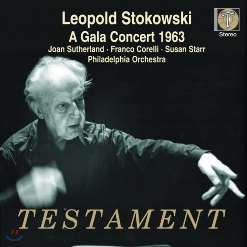 Leopold Stokowski 레오폴드 스토코프스키 - 1963년 필라델피아 갈라 콘서트 (A Gala Concert 1963)