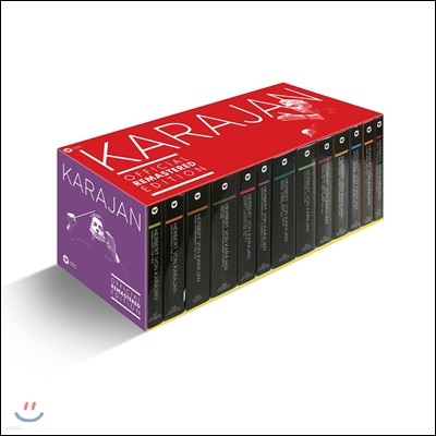 헤르베르트 폰 카라얀 공식 워너 리마스터드 에디션 전집 101CD 박스세트 (Herbert von Karajan Official Remastered Edition - Complete)