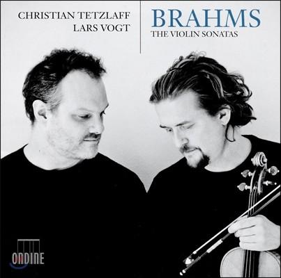 Christian Tetzlaff / Lars Vogt 브람스: 바이올린 소나타 1, 2, 3번 - 크리스티안 테츨라프, 라르스 포그트