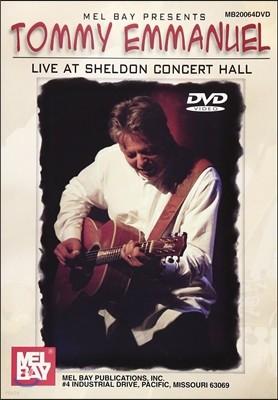 Tommy Emmanuel (토미 엠마뉴엘) - Live At Sheldon Concert Hall