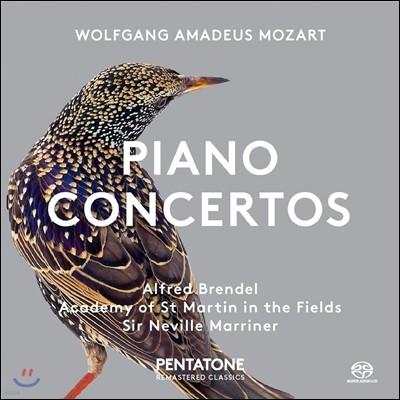 Alfred Brendel / Neville Marriner 모차르트: 피아노 협주곡  12, 17번 - 알프레드 브렌델, 네빌 마리너 (Mozart: Piano Concertos K.414 & 453)