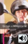 Oxford Bookworms Library Starter : Girl On A Motorcycle (Book+CD)