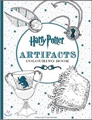 Harry Potter Magical Artifacts Colouring Book (영국판)