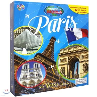 Paris : Around The World My Busy Book 세계 도시 비지북 : 파리
