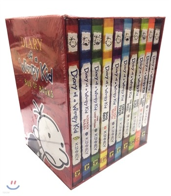 Diary of a Wimpy Kid #1~10 Box Set (미국판)
