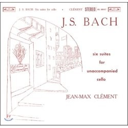 Jean-Max Clement 바흐: 무반주 첼로 모음곡 전곡집