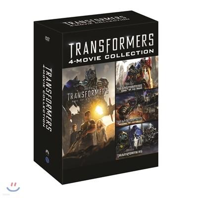 트랜스포머 4무비 콜렉션 (4Disc)