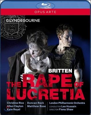 Christine Rice / Leo Hussain ���ڹ� �긮ư: ��ũ��Ƽ���� �ɿ� (Benjamin Britten: The Rape of Lucretia) ũ����ƾ ���̽�, ���� �ļ���