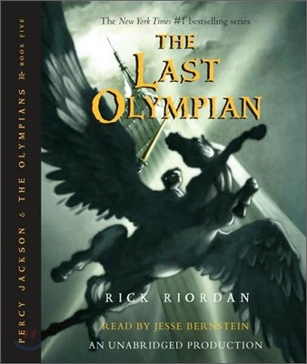 Percy Jackson and the Olympians #5 : The Last Olympian (Audio CD)