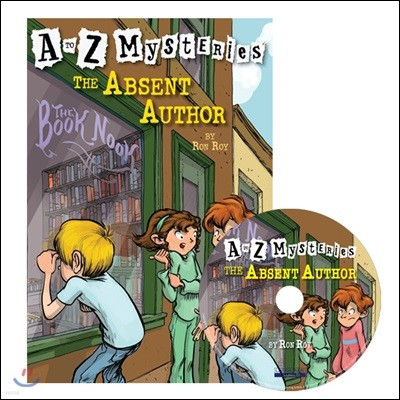 A to Z Mysteries #A : The Absent Author (Book+CD)