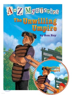 A to Z Mysteries #U : The Unwilling Umpire (Book+CD)
