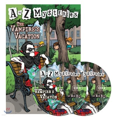 A to Z Mysteries #V : The Vampire´s Vacation (Book+CD)