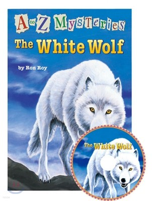 A to Z Mysteries #W : The White Wolf (Book+CD)