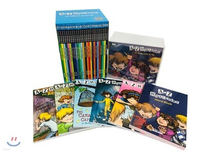 A to Z mysteries #1~26 Full Set Book (Book + CD + WordBook)