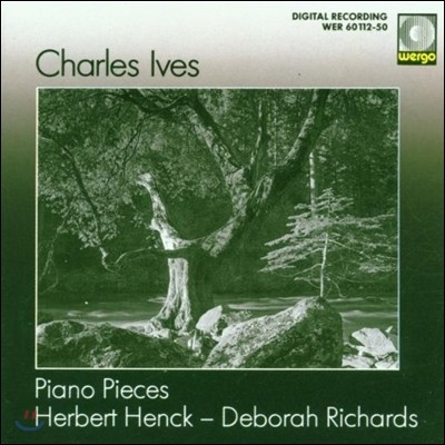 Herbert Henck 찰스 아이브스: 피아노 소품집 - 연습곡, 왈츠-론도, 3페이지 소나타 (Charles Ives: Piano Pieces)