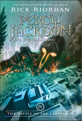 Percy Jackson and the Olympians #4 : The Battle of the Labyrinth