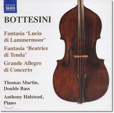 Thomas Martin 보테시니 컬렉션 3집 - 더블베이스와 피아노를 위한 소품 (Bottesini: Fantasia on Donizetti's Lucia di Lammermoor, Elegy)