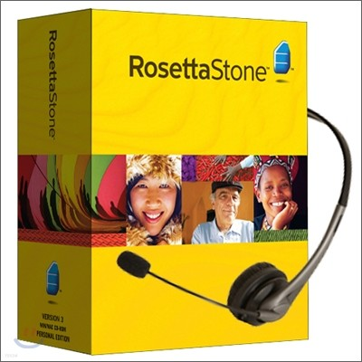 Rosetta Stone 포르투갈어 CD Level 1,2,3