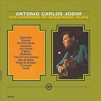 Antonio Carlos Jobim - Composer Of Desafinado Plays (Ltd. Ed)(SHM-CD)(일본반)