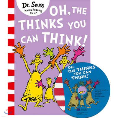 [노부영]Oh, the Thinks You Can Think! (Paperback & CD Set)