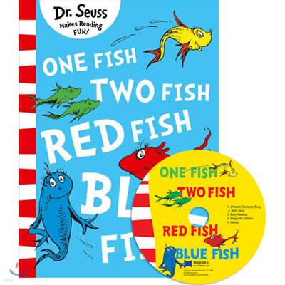 [노부영]One Fish Two Fish Red Fish Blue Fish (Paperback & CD Set)