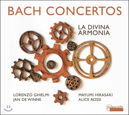 Lorenzo Ghielmi 바흐: 하프시코드 협주곡, 바이올린 협주곡, 삼중협주곡 외 (J.S. Bach: Concertos BWV1055,1042,1044,209) 로렌조 기엘미, 라 디비나 아르모니아