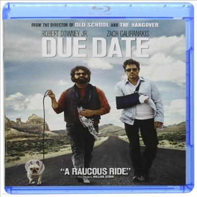 Due Date (듀 데이트)(한글무자막)(Blu-ray)