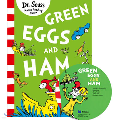 [노부영]Green Eggs and Ham (Paperback & CD Set)