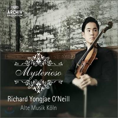 Richard Yongjae O'Neill 미스테리오소 : 비올라로 듣는 비탈리 샤콘느 (Mysterioso) 리처드 용재 오닐