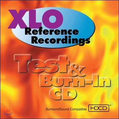 XLO Test & Burn In CD (오디오 테스트 HDCD)