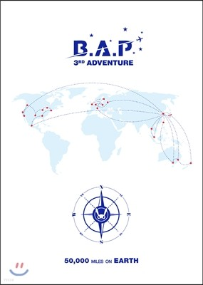 B.A.P (비에이피) - B.A.P 3rd Adventure [50,000 Miles On Earth]