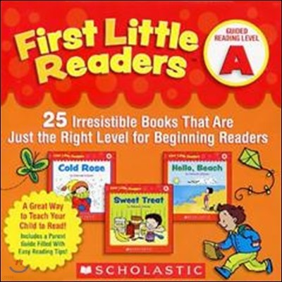 First Little Readers : Level A with CD