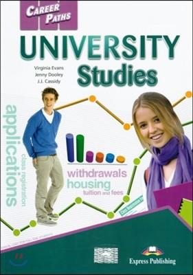 Career Paths: University Studies Student's Book (+ Cross-platform Application)