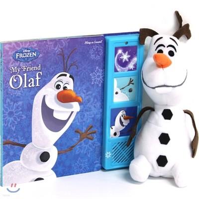 Book & Plush : Frozen : Olaf