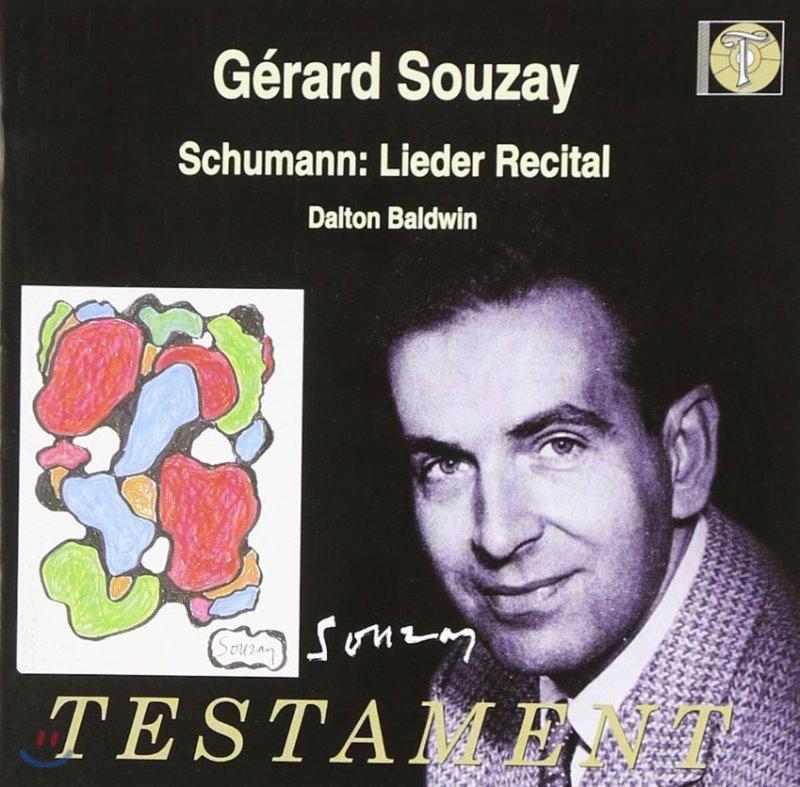 Gerard Souzay 슈만: 가곡집 (Schumann: Lieder Recital)