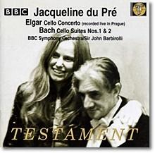 Jacqueline Du Pre 엘가: 첼로 협주곡 / 바흐: 무반주 첼로 모음곡 (Elgar: Cello Concerto / Bach: Suites)