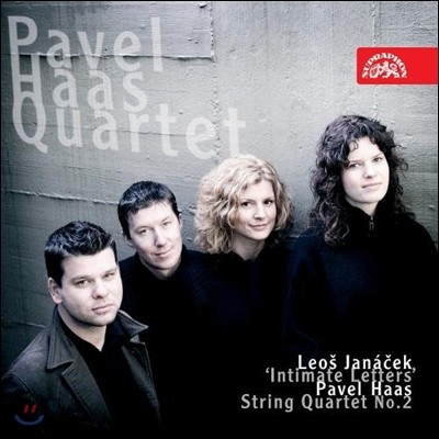 Pavel Haas Quartet 야나체크 / 하스 : 현악 사중주 2번 (Janacek / Haas: String Quartets No. 2)