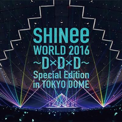 샤이니 (SHINee) - Shinee World 2016~D×D×D~Special Edition In Tokyo Dome(Blu-ray)(2016)