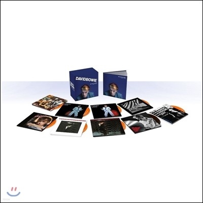 David Bowie (데이빗 보위) - Who Can I Be Now? 1974-1976 [12CD 박스세트]