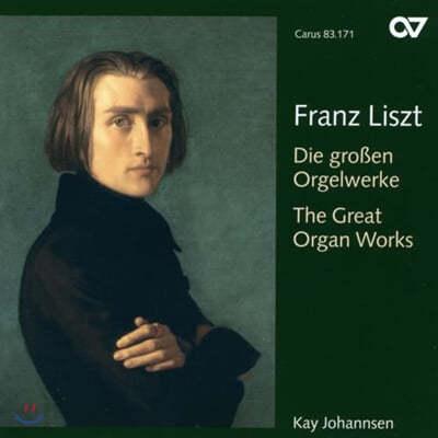 Kay Johannsen 리스트: 대 오르간 작품집 (Liszt : The Great Organ Works)